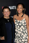 Debra Lee and daughter — Stock Photo