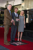 Bruno Heller, Simon Baker, Naomi Watts — Stock Photo