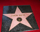 Simon Baker Star — Stock Photo