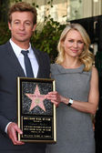 Naomi Watts, Simon Baker — Stock Photo