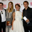 Actors James Ransone, Dree Hemingway, Stella Maeve, director Sean Baker — Lizenzfreies Foto