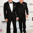 David Furnish, Elton John — Lizenzfreies Foto