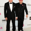 David Furnish, Elton John — 图库照片