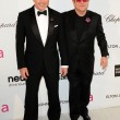 David Furnish, Elton John — Stock Photo