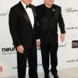 David Furnish, Elton John - Photo