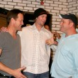 James Denton, Bronson Arroyo, Mike O&#039;Malley - Stock Photo