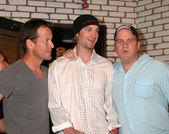 James Denton, Bronson Arroyo, Mike O'Malley — Stock Photo