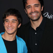 Gilles Marini and son — Foto Stock
