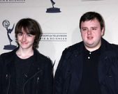 Isaac Hempstead-Wright, John Bradley — Stock Photo