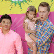 Bradley Steven Perry, Mia Talerico, Jason Dolley — Stock Photo