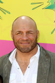 Randy Couture, Caden Couture — Stock Photo