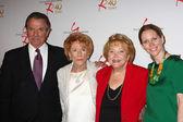 Eric Braeden, Jeanne Cooper, Lee Phillip Bell, Lauralee Bell — Stock Photo