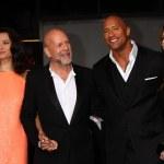 ������, ������: Emma Heming Bruce Willis Dwayne Johnson Lauren Hashian