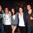 ������, ������: Kendall Schmidt James Maslow Carlos Pena Jr and Logan Henderson of Big Time Rush with Victoria Justice