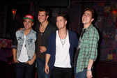 Carlos Roberto Pena Jr., James Maslow, Logan Henderson, Kendall Schmidt — Stock Photo
