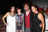 Finola Hughes, Hana Loggins, Kenny Loggins, Michelle Stafford — Stock Photo