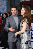 Tom Cruise, Melissa Leo — Stock Photo