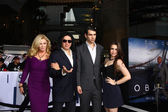Shannon Tweed Simmons, Gene Simmons, Nick Simmons, Sophie Simmons — Stock Photo