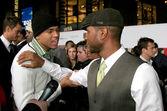 Chris Brown & Usher — Stockfoto