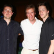 Постер, плакат: Jack Wagner with sons Harrison and Peter