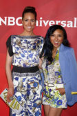 Louise Roe, Jeannie Mai — ストック写真