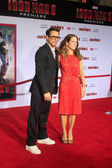 Robert Downey Jr, Susan Downey — Stock Photo