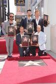 AJ McLean, Howie Dorough, Kevin Richardson, Brian Littrell, Nick Carter — Stock Photo