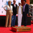 Jane Fonda, Peter Fonda. Shirlee Fonda, Troy Garity - Stock Photo