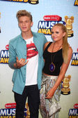 Cody Simpson, Alli Simpson — Stock Photo