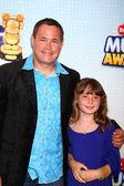Jeff Corwin, daughter — Stock Photo