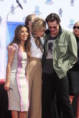 Eva Longoria, Jane Fonda, Jim Carrey — Foto Stock