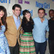Постер, плакат: Hannah Simone Max Greenfield Zooey Deschanel Jake Johnson Lamorne Morris