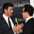Stock Photo: Karl Urban, JJ Abrams