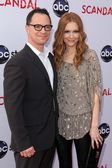 Joshua Malina, Darby Stanchfield — Stock Photo
