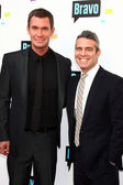 Jeff Lewis, Andy Cohen — Stock Photo