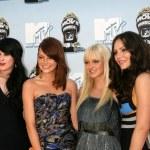 Rumer Willis, Emma Stone, Anna Faris, and Katharine McPhee — Stock Photo #26129139
