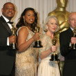 Forest Whitaker, Jennifer Hudson, Helen Mirren, & Alan Arkin Winner, — Stock Photo