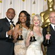 Forest Whitaker, Jennifer Hudson, Helen Mirren, & Alan Arkin Winner, — Stock Photo #26131639