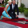 Yolanda Foster, David Foster  — Stock Photo