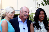 Yolanda Foster, Dr Phil McGraw, Natalie Cole — Stock Photo