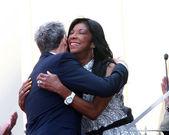 David Foster, Natalie Cole — Stock Photo