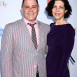 Matthew Weiner, Linda Brettler  — Stock Photo
