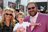 Joel Silver & Family — Foto de Stock