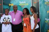Mike Tyson y Famil — Foto de Stock