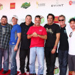 Scott Grimes, Charlie McDermott, Jorge Garcia, James Denton, Eddie Matos, Greg Grunberg, Bob Guiney Adrian Pasdar, Stephen Collins, Chris Harrison — Stock Photo #26530081
