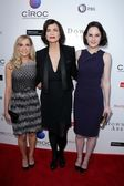 Joanne Froggatt, Elizabeth McGovern, Michelle Dockery — Stock Photo