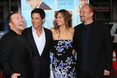 Ricky Gervais, Rob Lowe, Jennifer Garner, Louis C.K. — Stock Photo