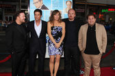 Ricky Gervais, Rob Lowe, Jennifer Garner, Louis C.K., & Jonah Hill — Stock Photo