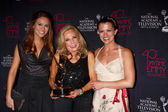 Chrishell Stause, Judy Blye Wilson, Melissa Claire Egan — Stock Photo