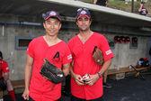James Kyson Lee & Danny Pino — Stock Photo